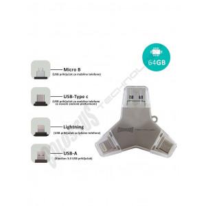 MULTI USB i DRAGON 4 u 1 U016A 64GB COLOSSUS