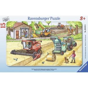 RAVENSBURGER puzzle (slagalice) - Mašine RA06015