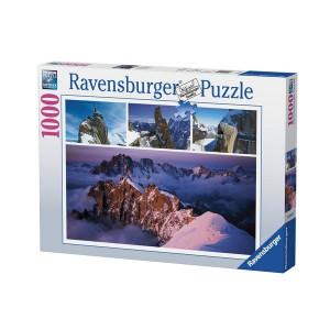 RAVENSBURGER Ravensburger puzzle (slagalice) - Planinski vrh Mont Blanc RA19671
