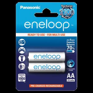 PANASONIC Punjiva baterija Bat. eneloop AA/2B (BK-3MCCE/2BE)