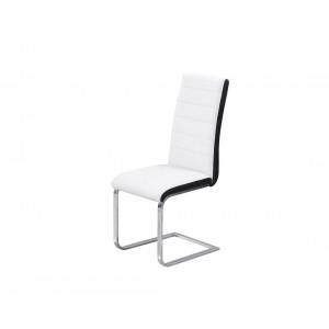 MATIS trpezarijska stolica TIP-TOP - Belo-Crni