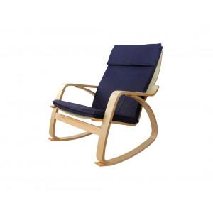 MATIS stolica za ljuljanje ROCKER - PLAVA FOR038