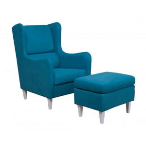 MATIS fotelja GRAZIA - TIRKIZ MM3031203