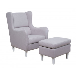 MATIS fotelja GRAZIA - SIVA MM3031201