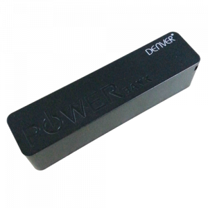 DENVER prenosna baterija PBA 2600/2600 mAh crna
