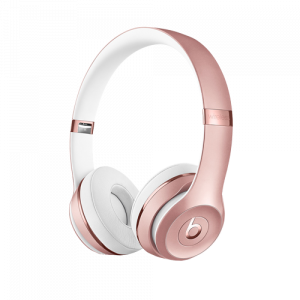 DR.DRE Beats Solo3 Wireless On-Ear Headphones - Rose Gold MNET2ZM/A