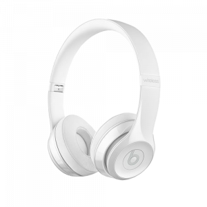 DR.DRE Beats Solo3 Wireless On-Ear Headphones - Gloss White MNEP2ZM/A