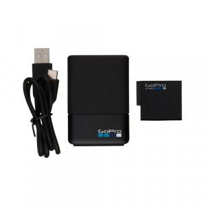 GOPRO Dual Battery Charger + Battery (za HERO5/6 Black) AADBD-001-EU