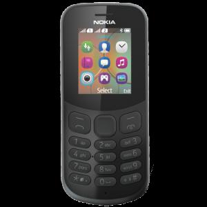 NOKIA mobilni telefon 130 DS Black new Dual Sim A00028511
