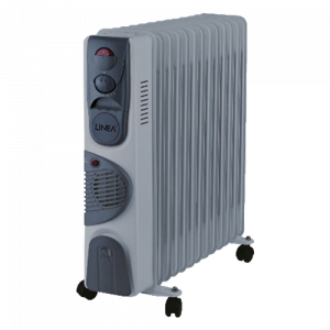 LINEA uljani radijator LRF13-0436 2500 W + 400 W ventilator