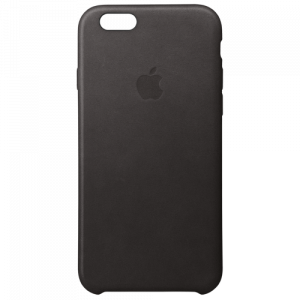 APPLE iPhone 6s Leather Case - Black MKXW2ZM/A