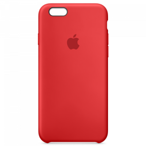 APPLE iPhone 6s Silicone Case - (PRODUCT)RED MKY32ZM/A