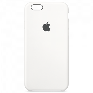 APPLE iPhone 6s Silicone Case - White MKY12ZM/A