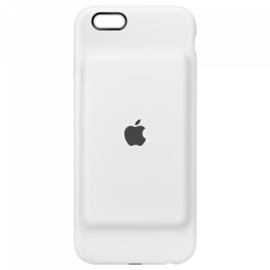 APPLE iPhone 6s Smart Battery Case - White MGQM2ZM/A