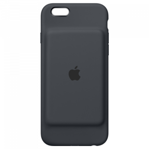 APPLE iPhone 6s Smart Battery Case - Charcoal Gray MGQL2ZM/A