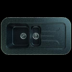 GORENJE sudopera Siligor KVE100.12 (crna)