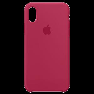 APPLE iPhone X Silicone Case - Rose Red MQT82ZM/A