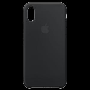 APPLE iPhone X Silicone Case - Black MQT12ZM/A