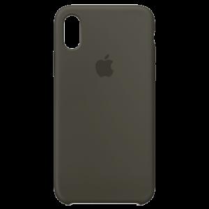 APPLE iPhone X Silicone Case - Dark Olive MR522ZM/A