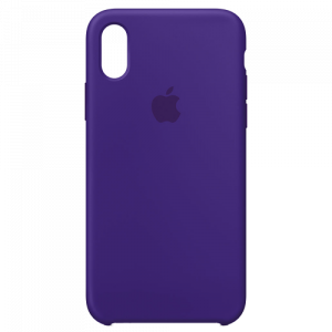 APPLE iPhone X Silicone Case - Ultra Violet MQT72ZM/A
