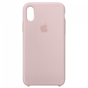 APPLE iPhone X Silicone Case - Pink Sand MQT62ZM/A