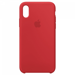 APPLE iPhone X Silicone Case - (PRODUCT)RED MQT52ZM/A