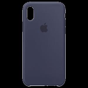 APPLE iPhone X Silicone Case - Midnight Blue MQT32ZM/A