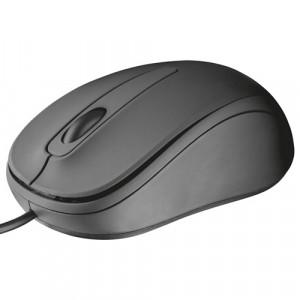 TRUST ziva žičani optički miš crni 21508