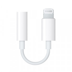 APPLE Lightning to 3.5 mm Headphone Jack Adapter MMX62ZM/A