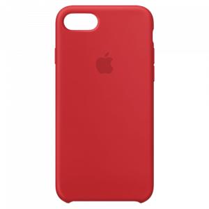 APPLE iPhone 8/7 Silicone Case - (PRODUCT)RED MQGP2ZM/A