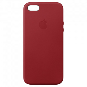APPLE iPhone SE Leather Case - (PRODUCT)RED MR622ZM/A