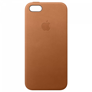APPLE iPhone SE Leather Case - Saddle Brown MNYW2ZM/A