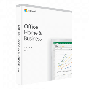 MICROSOFT Office Home and Business 2019 English only, medialess T5D-03245