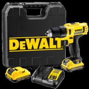 DEWALT akumulatorska bušilica odvijač 10,8V Li-Ion 2.0 Ah DCD710D2