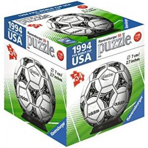RAVENSBURGER 3D puzzle (slagalice) - fudbalska lopta RA11937