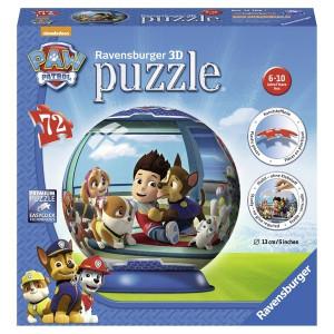 RAVENSBURGER 3D puzzle (slagalice) -  paw patrol RA12186