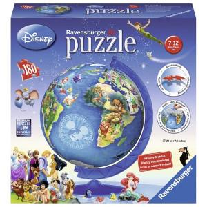 RAVENSBURGER 3D puzzle (slagalice) -  disney globus RA12333