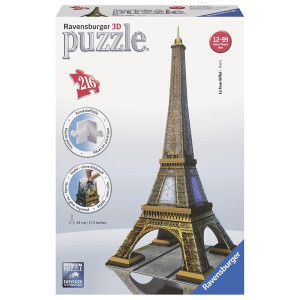 RAVENSBURGER 3D puzzle (slagalice) -ajfelova kula RA12556