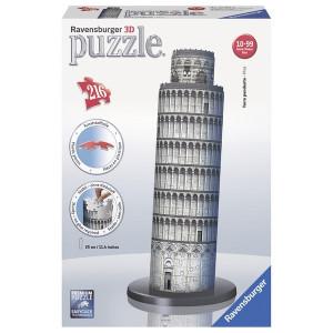 RAVENSBURGER 3D puzzle (slagalice) - toranj u pizi RA12557
