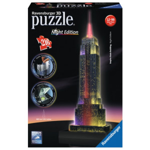RAVENSBURGER 3D puzzle (slagalice) - empire state building n RA12566