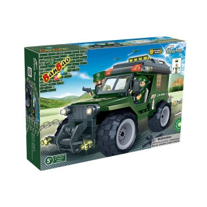 BANBAO Vojni Jeep 8255