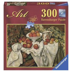 RAVENSBURGER puzzle (slagalice) - Sezan mrtva priroda sa jabukama RA14021