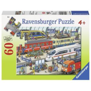 RAVENSBUTRGER puzzle (slagalice) - Zeleznicka stanica RA09610