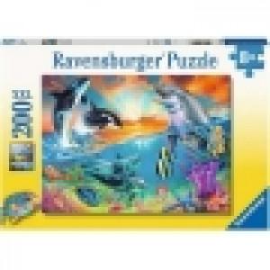 Ravensburger puzzle (slagalice) - Delfini RA12900