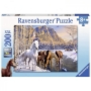 Ravensburger puzzle (slagalice) - Konji u zimskoj idili RA12690