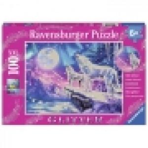 Ravensburger puzzle (slagalice) - Magični vukovi sa gliterom RA13600