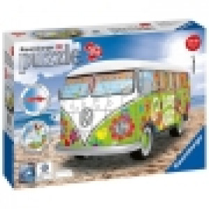 Ravensburger 3D puzzle (slagalice) -  VW Bus T1 u Hipi stilu RA12532