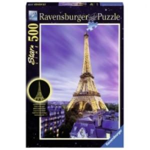 Ravensburger puzzle (slagalice)- Ajfelova kula nocu RA14898