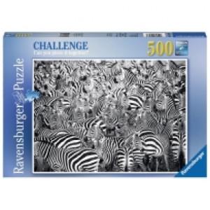 Ravensburger puzzle (slagalice) - Zebra izazov RA14807