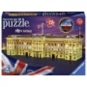 Ravensburger 3D puzzle (slagalice) - Bakingemska palata nocno izdanje RA12529